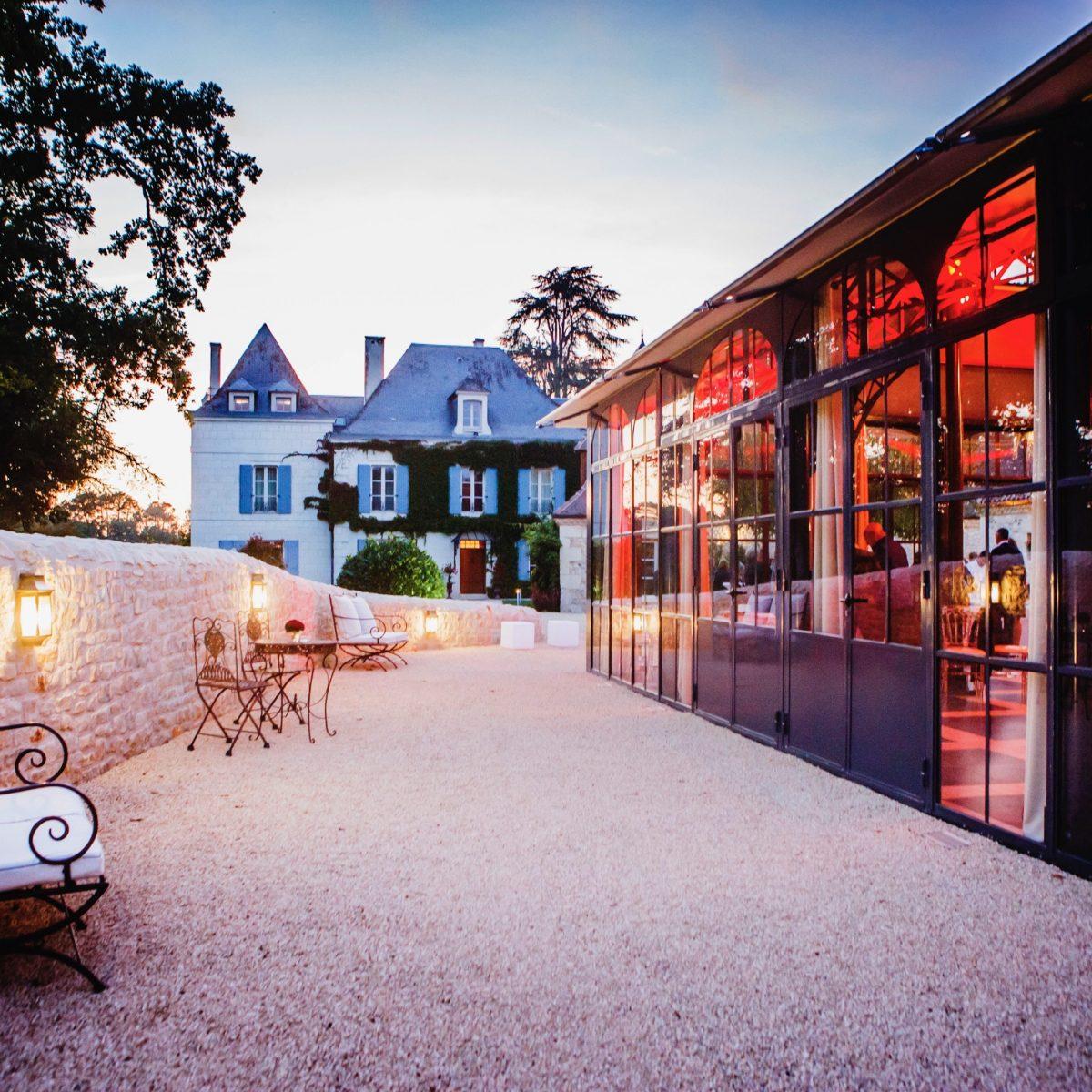 1 Le Manoir et l'orangerie